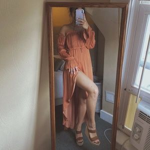 Summer Peasant Dress